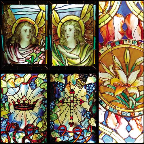 Religiöses Fensterglas