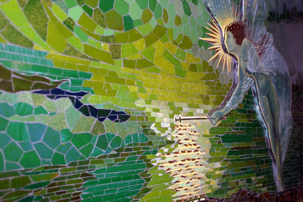 Mosaik Geist der Nacht nach Grimshaw