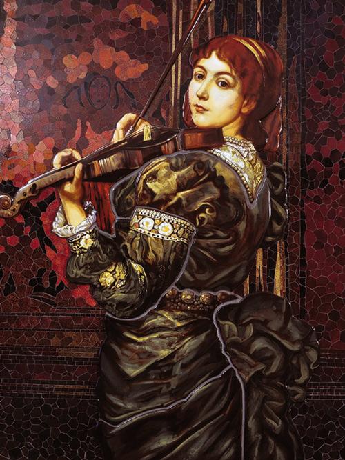 Mosaik nach Watts, Lady Lindsay