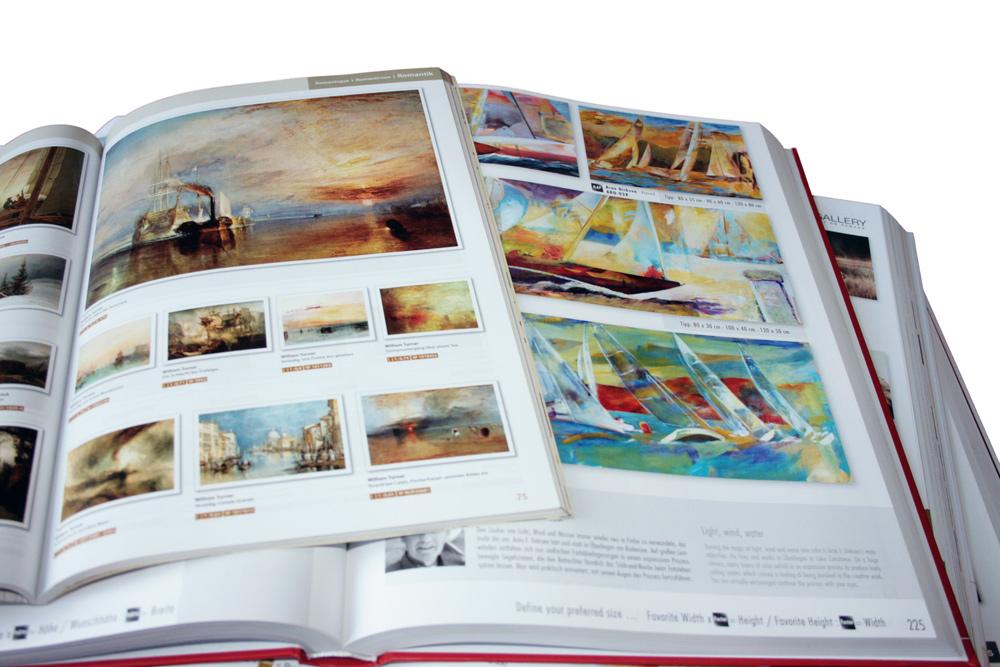 zafrane Muenchen Katalog mit Marinebildern