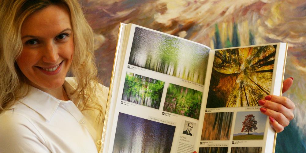 Kataloge mit Naturphotographie