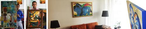 Kundenphotos mit expressionistischen Bildern