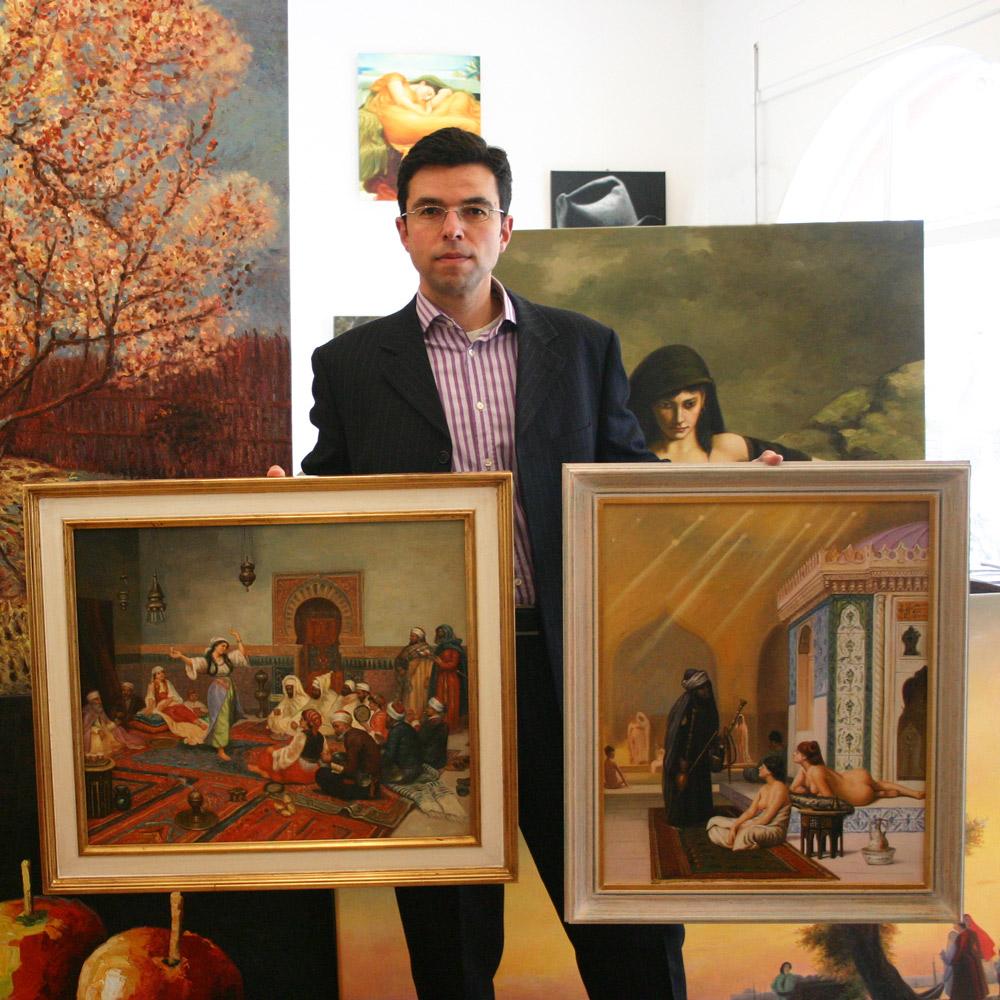 Orientalistische Gemälde kaufen