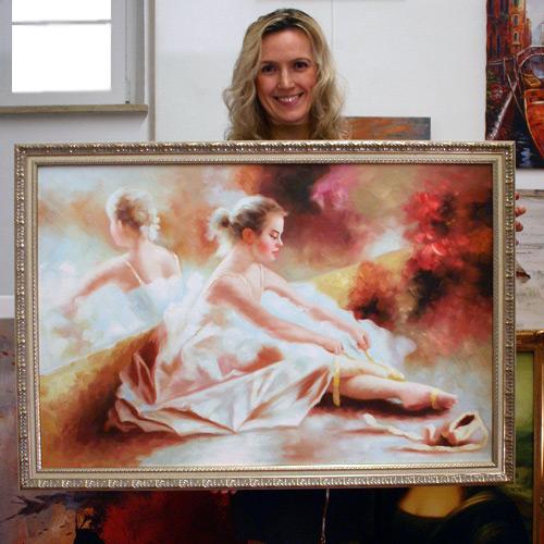 Impressionismus Tänzerin Ballett