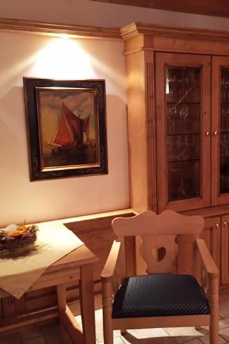 Kundenkauf einer Gemäldekopie nach Karl Kaufmann