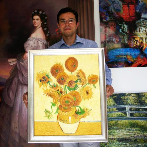 Sonnenblumen nach van Gogh