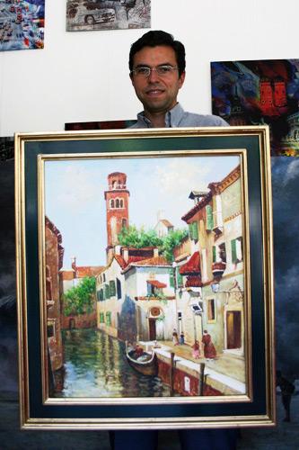 Impressionistisches Venedig Gemaelde