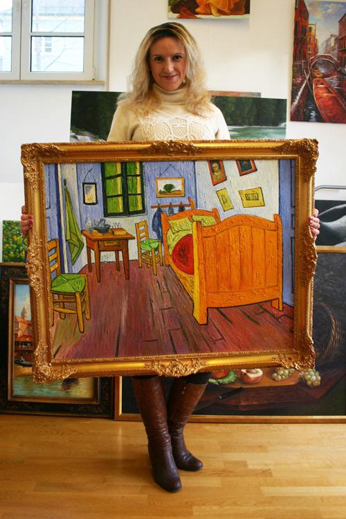 van Gogh impressionistisches Gemälde von zafrane
