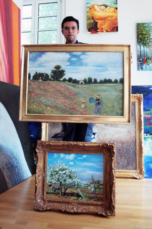 Impressionistische Monet Gemaelde