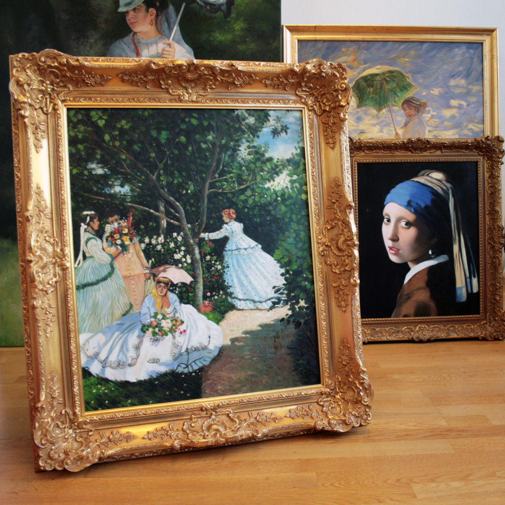 Impressionistisches Ölbild