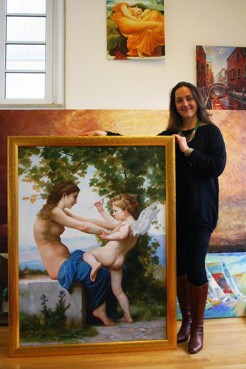 Klassische Gemäldekopien im passenden Rahmen erwerben