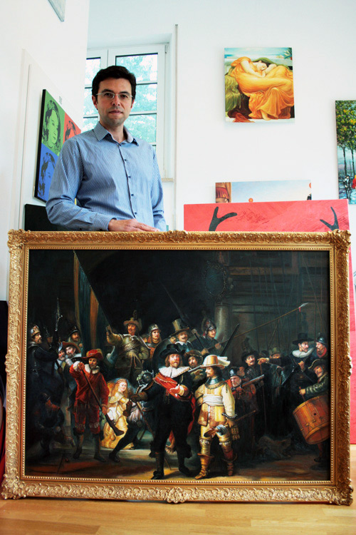 Gemälde nach Rembrandt, Die Nachtwache
