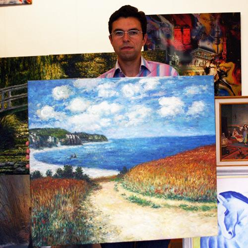 Impressionistisches Landschaftsgemaelde