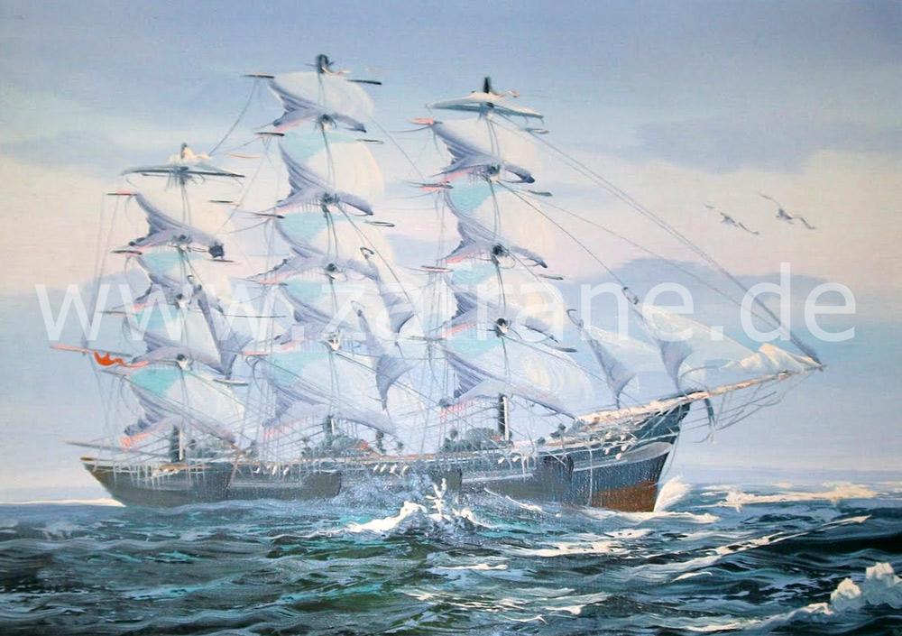 Segelschiffgemälde