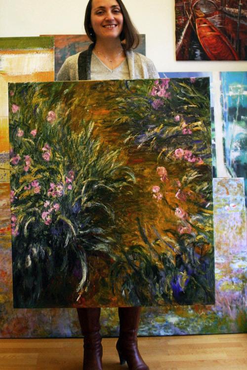 Modernes Motiv von Monet