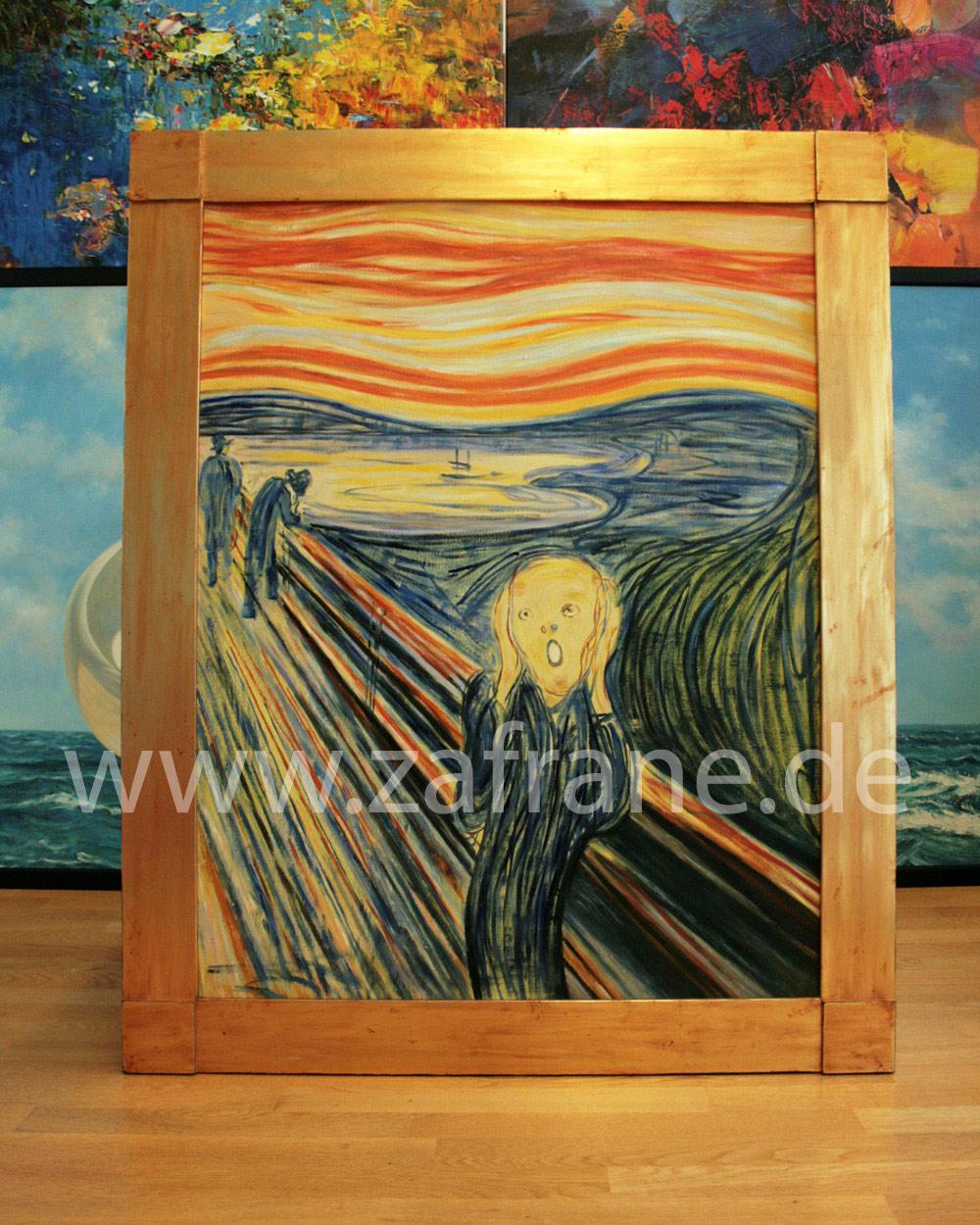 Gemaeldekopie nach Edvard Munch, Der Schrei