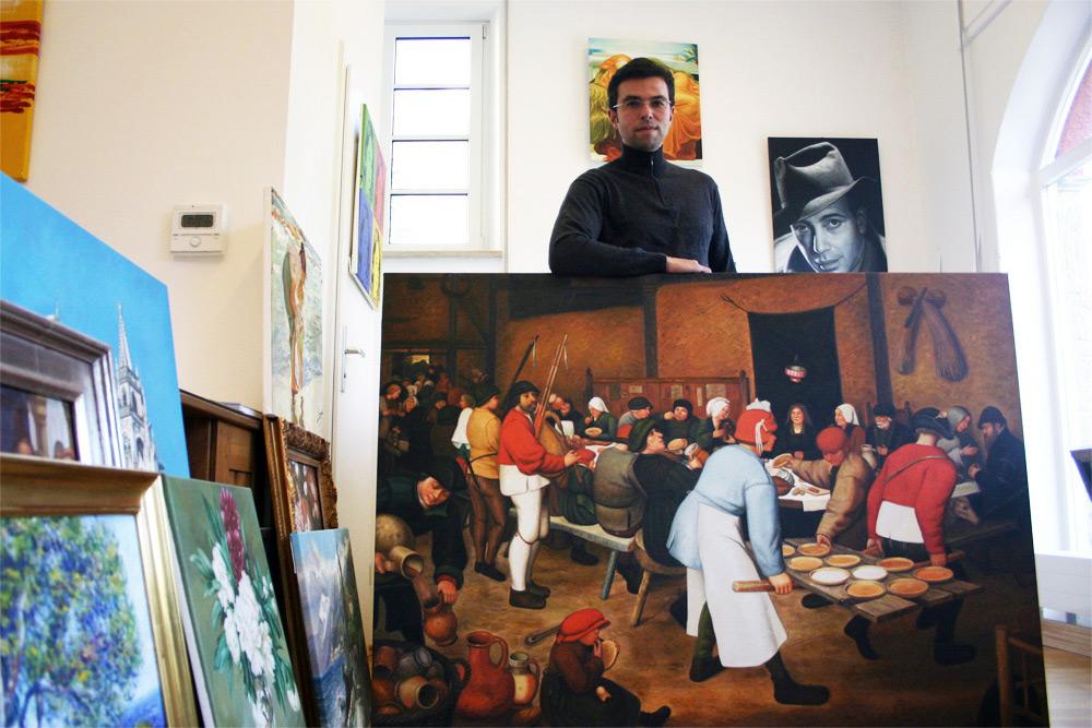 Ölbilder kaufen mit Inhaber Daniel Cid Gomez