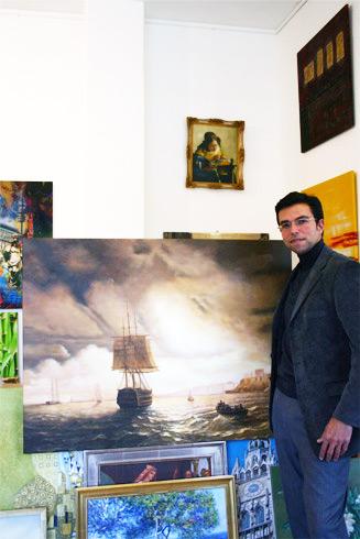 Klassische Bilder von zafrane München kaufen, beispielsweise Aivazovsky