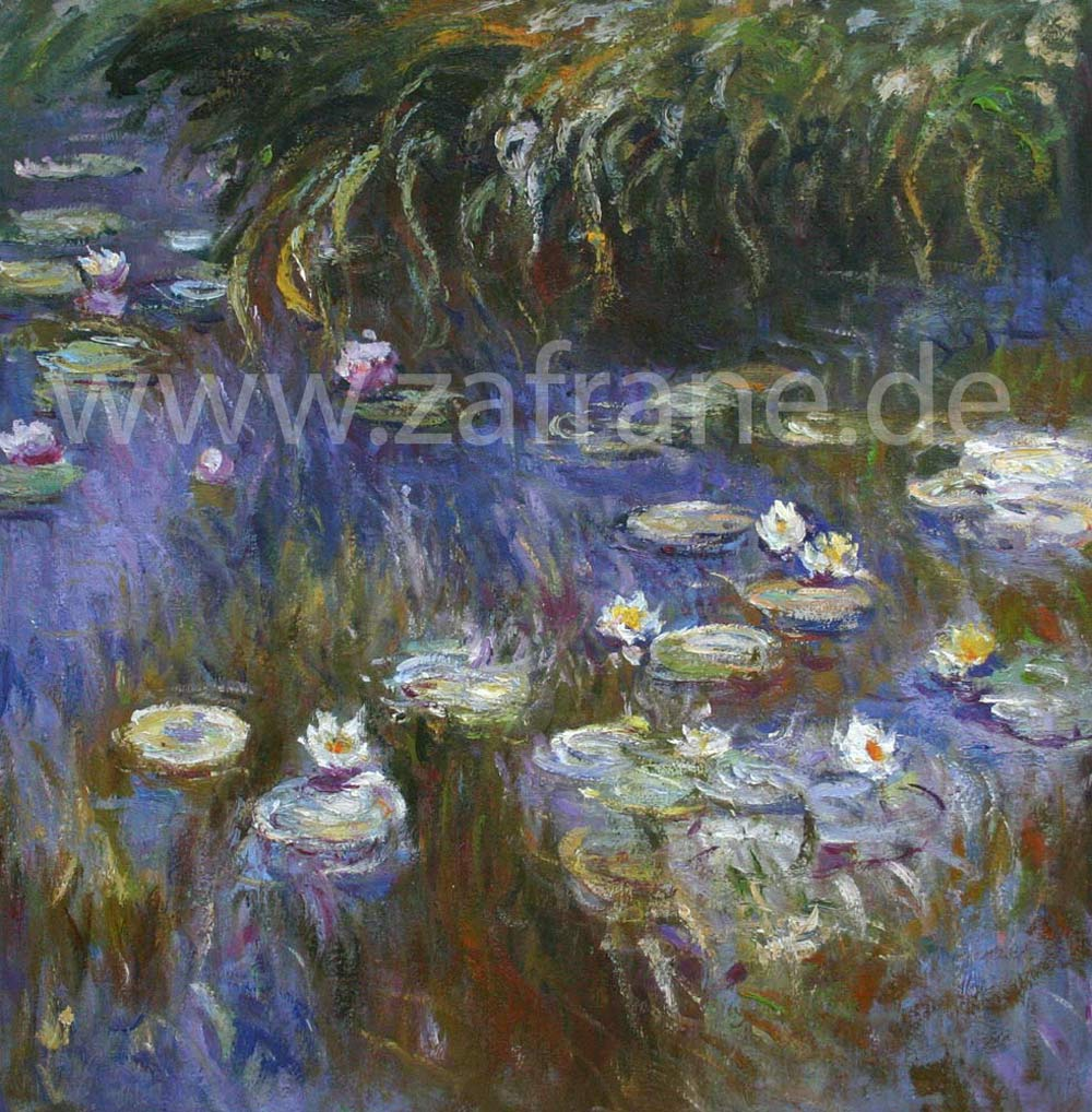 Impressionismus Seerosen Monet