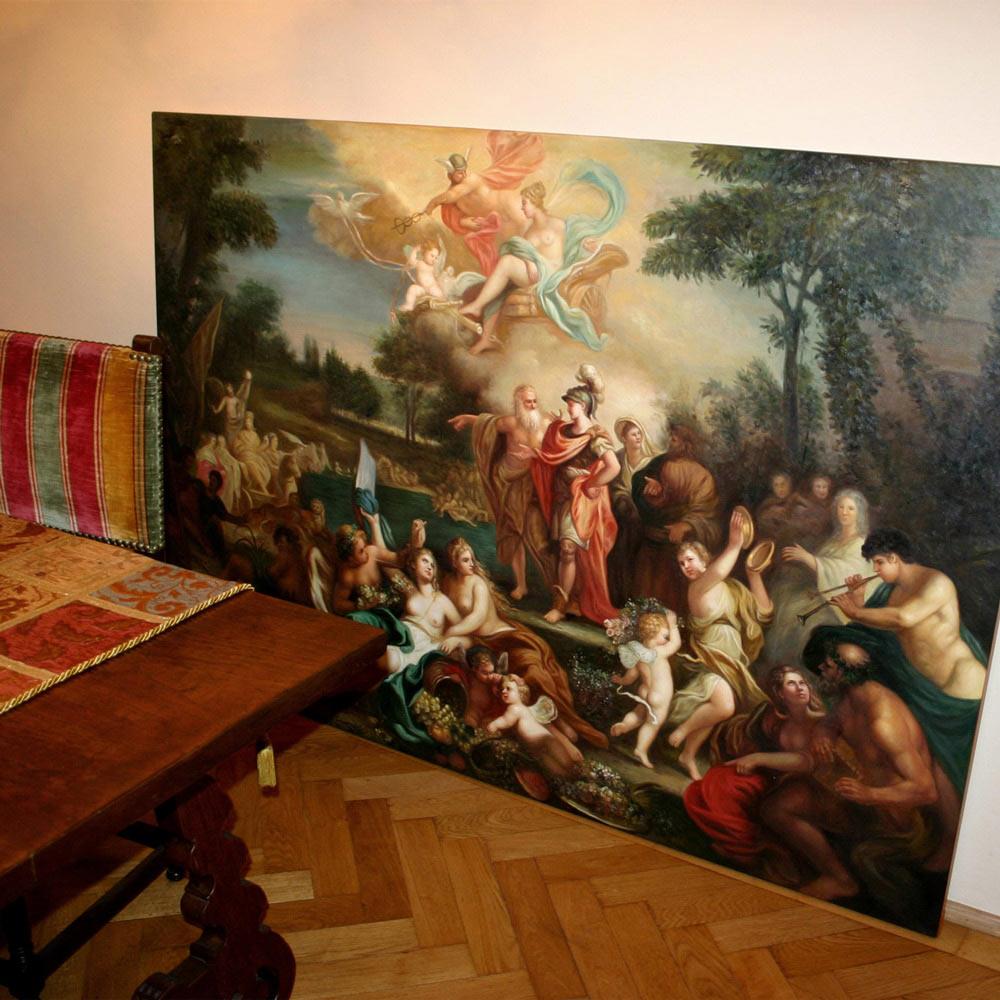 Klassische Bilder mit mythologischen Themen