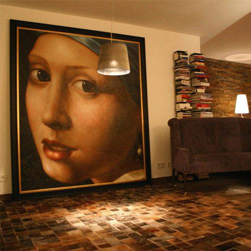 Klassische Ölbilder kaufen Gemäldekopie nach Vermeer