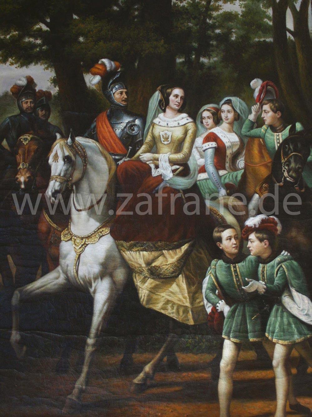 Klassische Bilder Reiterbildnis