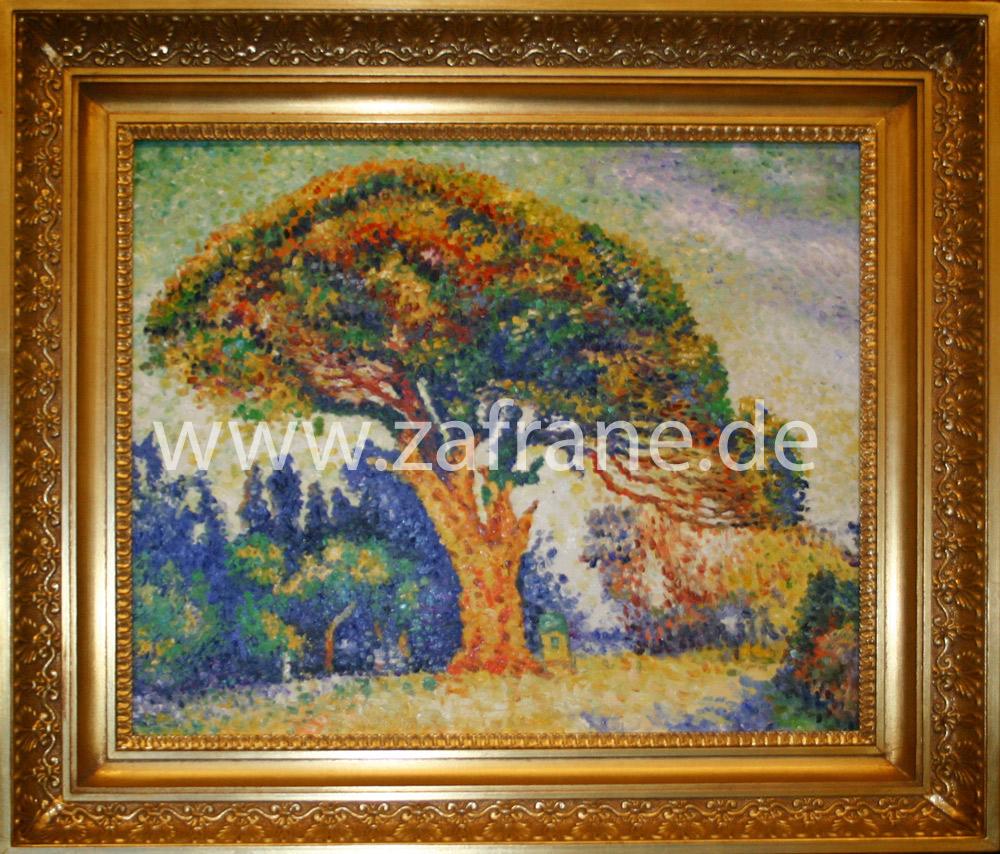 Landschaftsmalerei des Pointillismus nach Signac