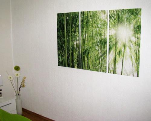 Moderner Dreiteiler mit Lichtdurchflutetem Bambuswald