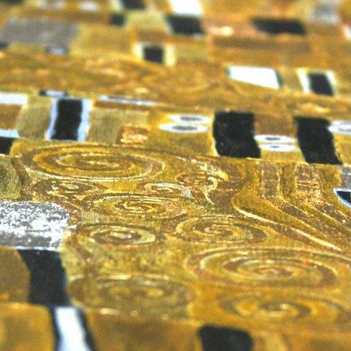 Gustav Klimt Gemäldedetails