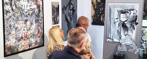 Kunstausstellung in Muenchen auf der ARTMUC