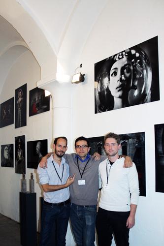 Daniel Cid Gomez auf der ArtMuc 2017
