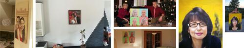 Kundenphotos mit modernen Portraits