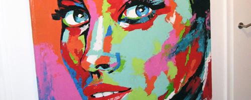 Moderne Portraitmalerei