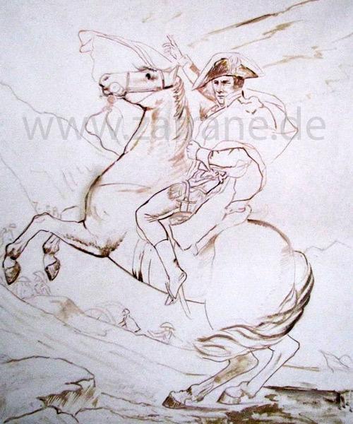 Gemälde Zeichnung