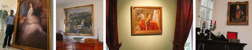 Klassische Ölbilder und Gemälde