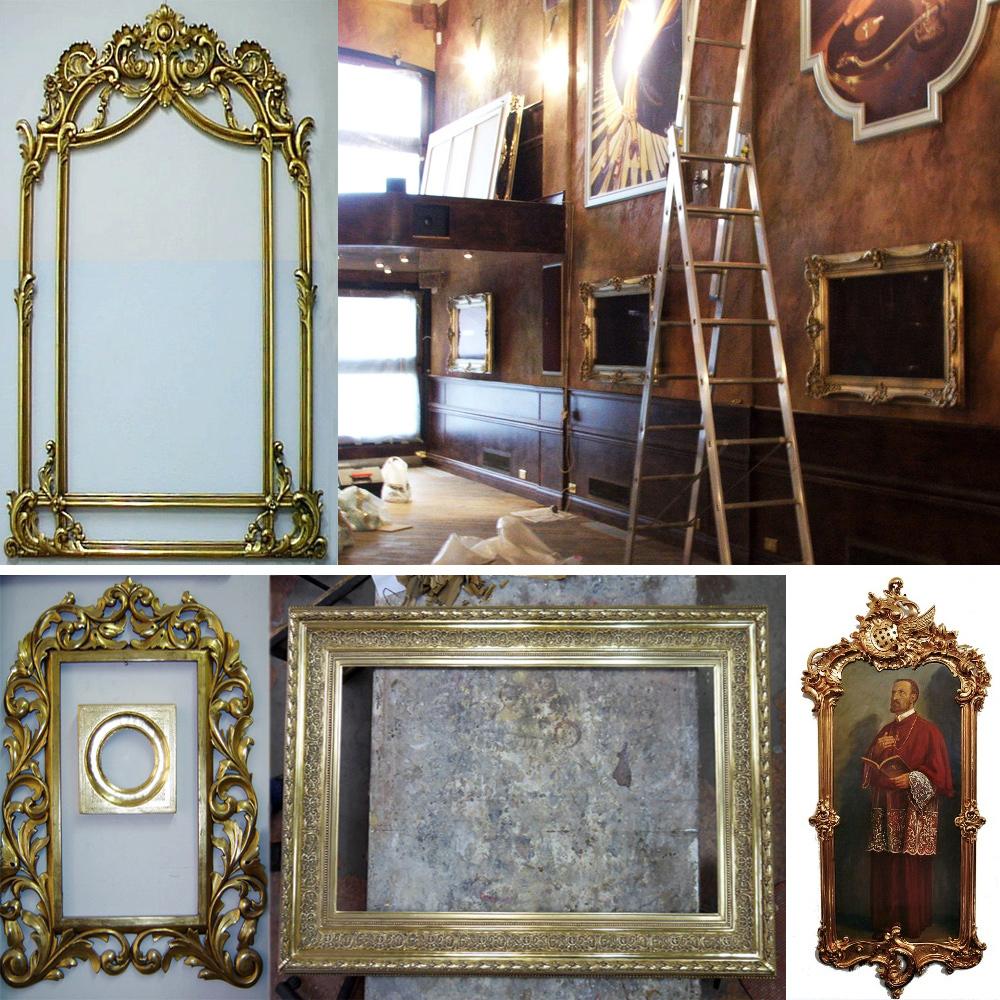Rahmen Restaurierung Beispiele